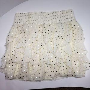 NWT Rue 21 Womens layered yellow skirt size Large